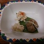 鳥料理 玉ひで - レバー、軟骨の柔らか煮