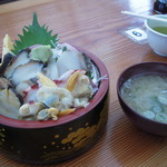 相浜亭 - 海女丼
