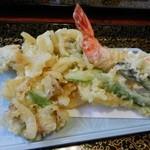 ひさご寿司 - ゆうべつ温泉水塩うどん
