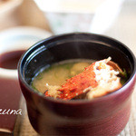 kizunapurasu - 朝からかにのみそ汁