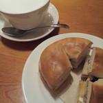 19471665 - ブルーベリーとクリームチーズのベーグル