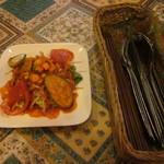 インド料理 SWAAD - 料理写真:サラダ