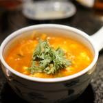 かぶら亭 - ユッケジャンスープ