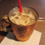 19473135 - アイス無糖ミルク珈琲 350円