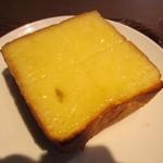 19473136 - 厚切りチーズトースト 350円