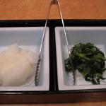 19474833 - 大根と野沢菜漬け