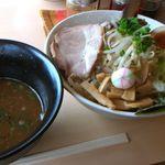 iena&ふくすけ - 野菜つけ麺 780円(2013.6.9現在)