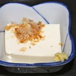 元禄 - 小鉢の豆腐
