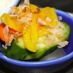 元禄 - 小鉢の漬物