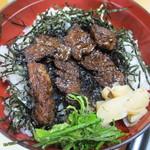 活魚料理一徳 - 牛ハラミ丼