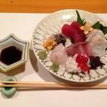 須川屋 - お刺身盛り合わせ