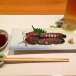 須川屋 - 蝦蛄のお造り