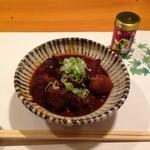 須川屋 - 牛スジ煮込み