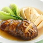 山海楼 - 素材本来の旨みを活かした上品な一皿『椎茸と竹の子醤油煮込み』