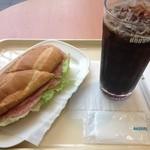 19479242 - ミラノサンド&アイスコーヒーLサイズ