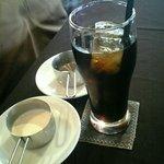 テラス - アイスコーヒー