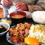 つきじ - 生姜焼き定食
