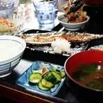つきじ - さんま焼き定食