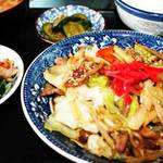 つきじ - 野菜炒め定食