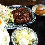 つきじ - 和風ハンバーグ定食
