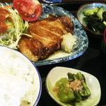 つきじ - 豚肉のソテー定食