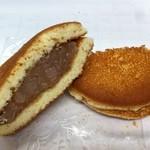 和菓子処 おがわ  - どら焼き(白餡)