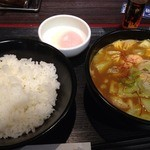 CoCo壱番屋 - 豆腐チゲカレー