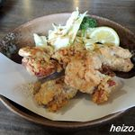 活魚小松 - 鶏の唐揚げ