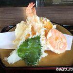 活魚小松 - 天ぷら