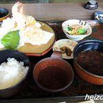 活魚小松 - 天ぷら定食