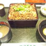 キッチン・スギモト - 2013.5月 黒毛和牛すき重+ライス・お肉大盛 ¥755