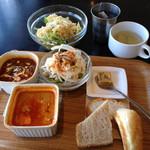 トーマスカフェ - 3DELI + デザートランチ