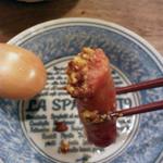 京町食堂 - ソーセージ盛り合わせ(780円)
