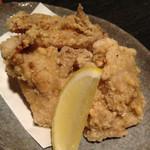 酒と肴の たか木 - 鶏の唐揚げ