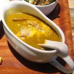 Curry まはから - ホウレン草とカッテージチーズのチキンカリー