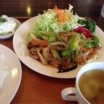 レストランポム - ポークソテー(ライス)