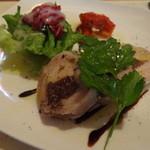 小さなワイン食堂 タブリエ - 無花果とフォアグラのガランティーヌ