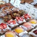 19489566 - 綺麗なパンたちがズラリ〜♡