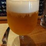 小さなワイン食堂 タブリエ - 生ビール(19時まで半額)