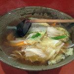 喜久龍 - 湯麺600円