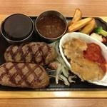 ビッグボーイ - 大俵ハンバーグ&純黒豚の焼カツレツ