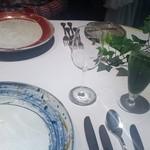 エルミタージュ ドゥ タムラ - 自家製の青汁ソーダ 素材のよさの引き立つ味