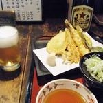 19491216 - 天ぷらとビール