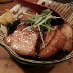 清水家 錦 - 角煮と味付け玉子