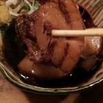 清水家 錦 - トロトロ角煮