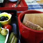 かじの葉 - 大根と豚肉の煮物椀