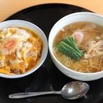中華料理 永楽 - 玉子丼セット