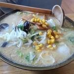 サッポロラーメン羆由良店 - 味噌ラーメン 650円