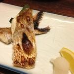 竹亭にしき - 真鯛塩焼き