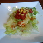 リリオ - ランチセットのサラダ